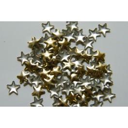 Kovové hvězdičky zlaté 4 mm