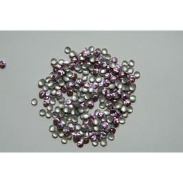 Kovové cvočky fialové 2 mm