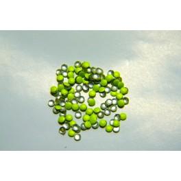 Lentilky neonově zelené 2mm